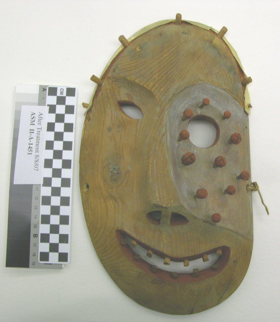 Mask missing elements.