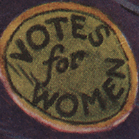 View Ad for Womeen Suffrage Procession.