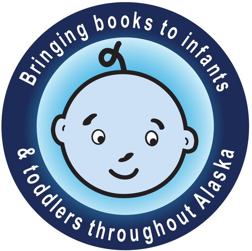 Ready to Read logo with text: Bringing books to infants & toddlers throughout Alaska.