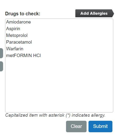 Micromedex 2.0 checking drug interactions Step 2