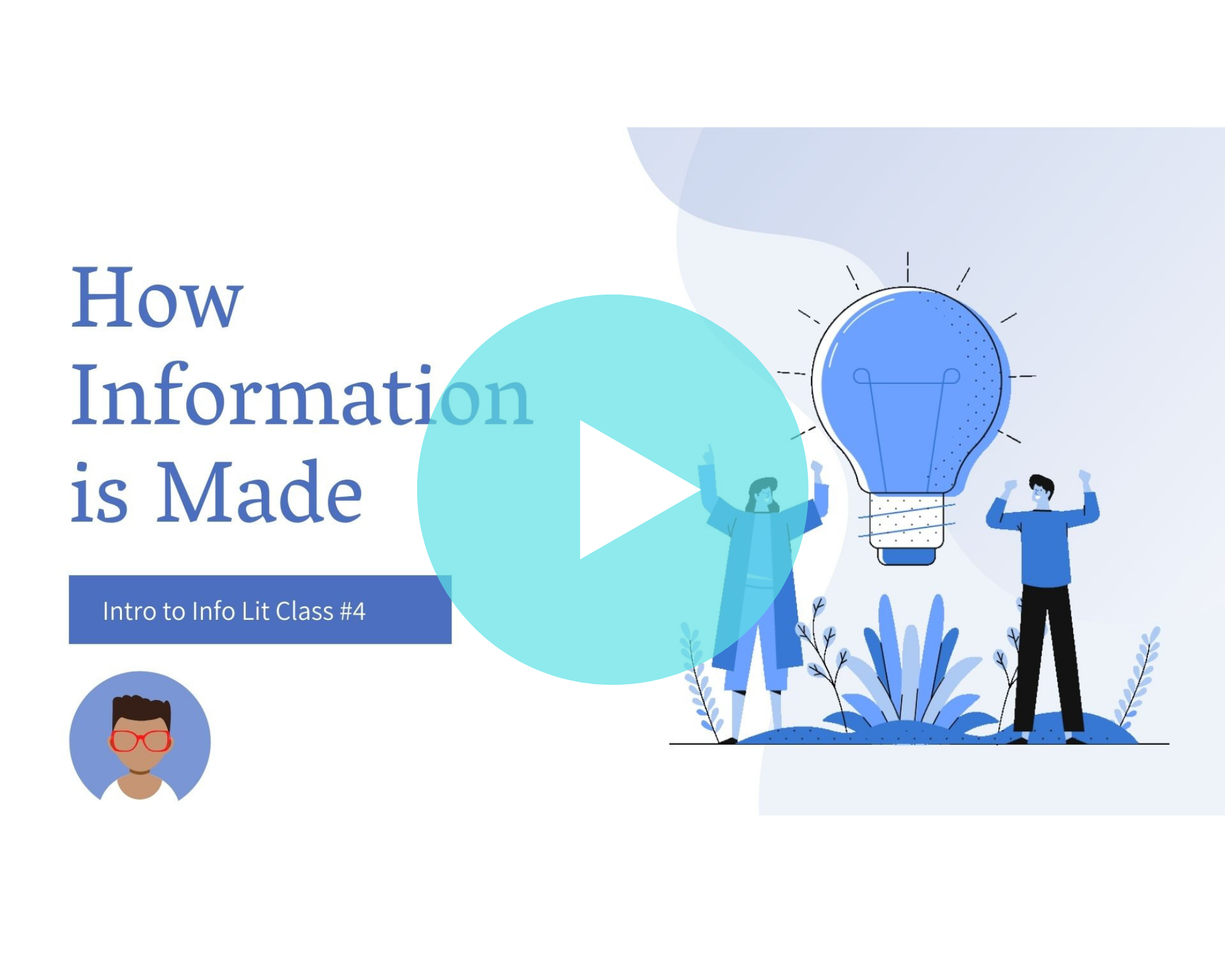 How Information is Made