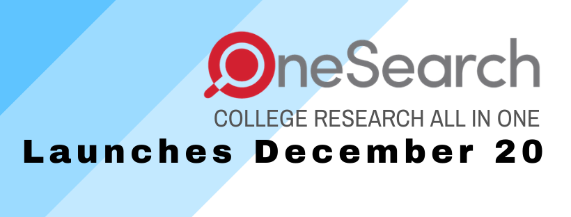 OneSearch launches December 20