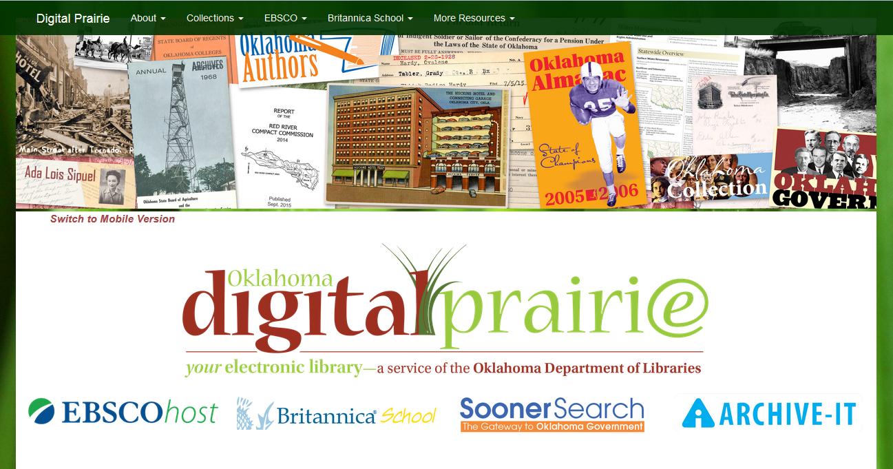 Oklahoma Digital Prairie