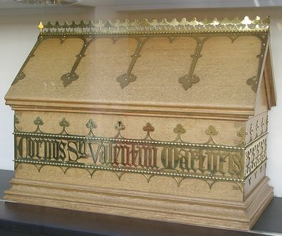 image of St Valentine relic casket