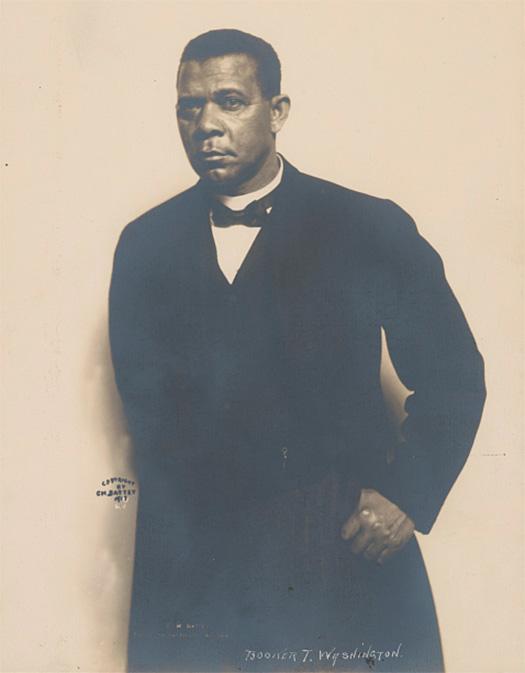 Booker T Washington portrait