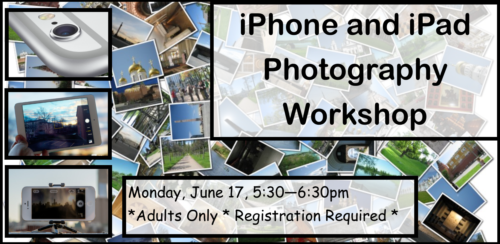 iPhone and iPad Photography Workshop