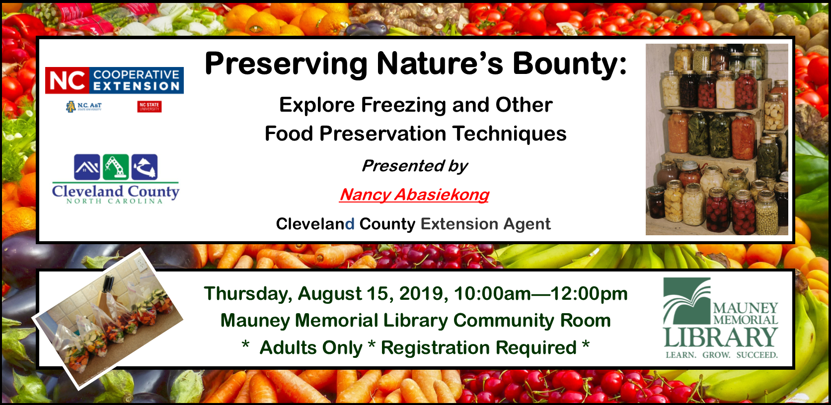 Preserving Nature's Bounty: Explore Freezing and other Food Preservation Techniques