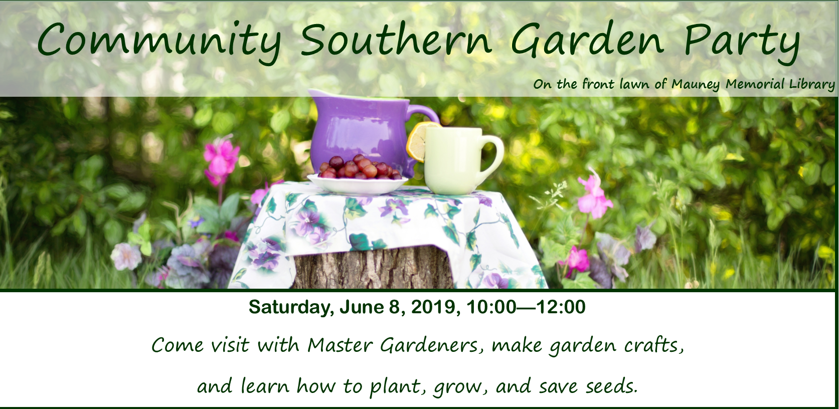 Community Southern Garden Party