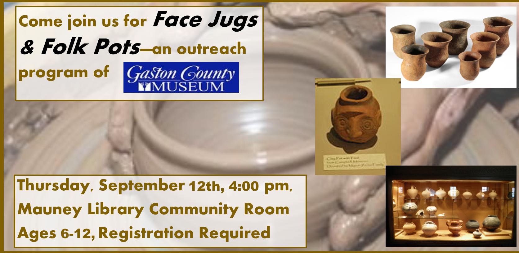 Face Jugs and Folk Pots