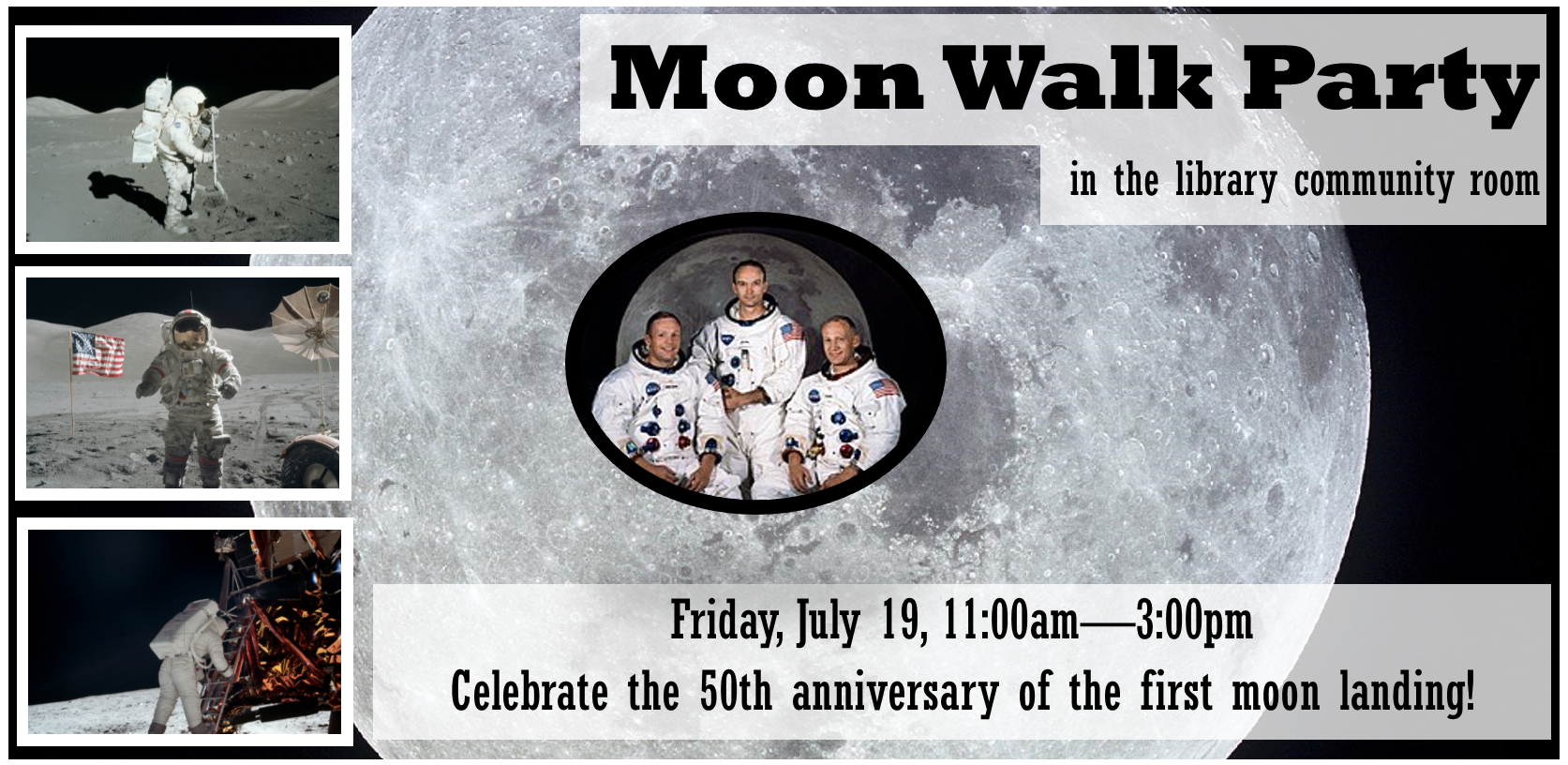 Moon Walk Party