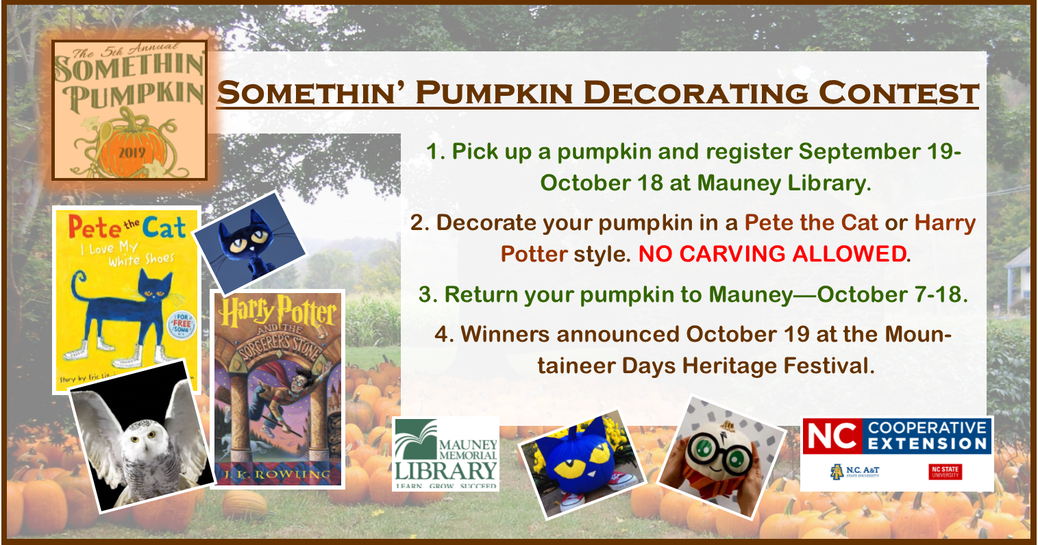 Somethin' Pumpkin Painting Contest