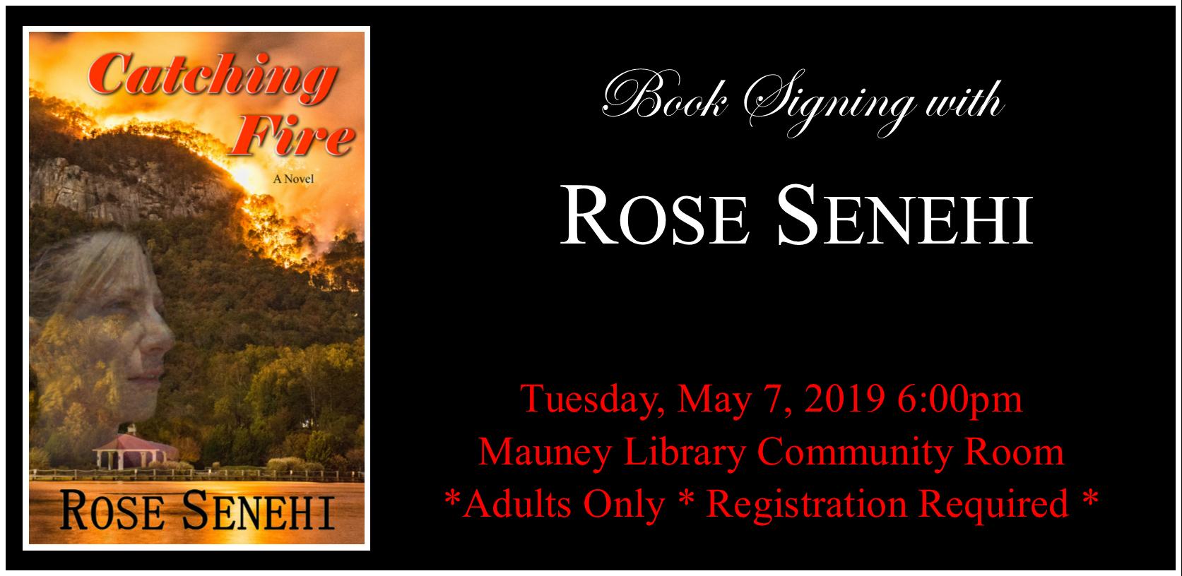 Rose Senehi Book Signing