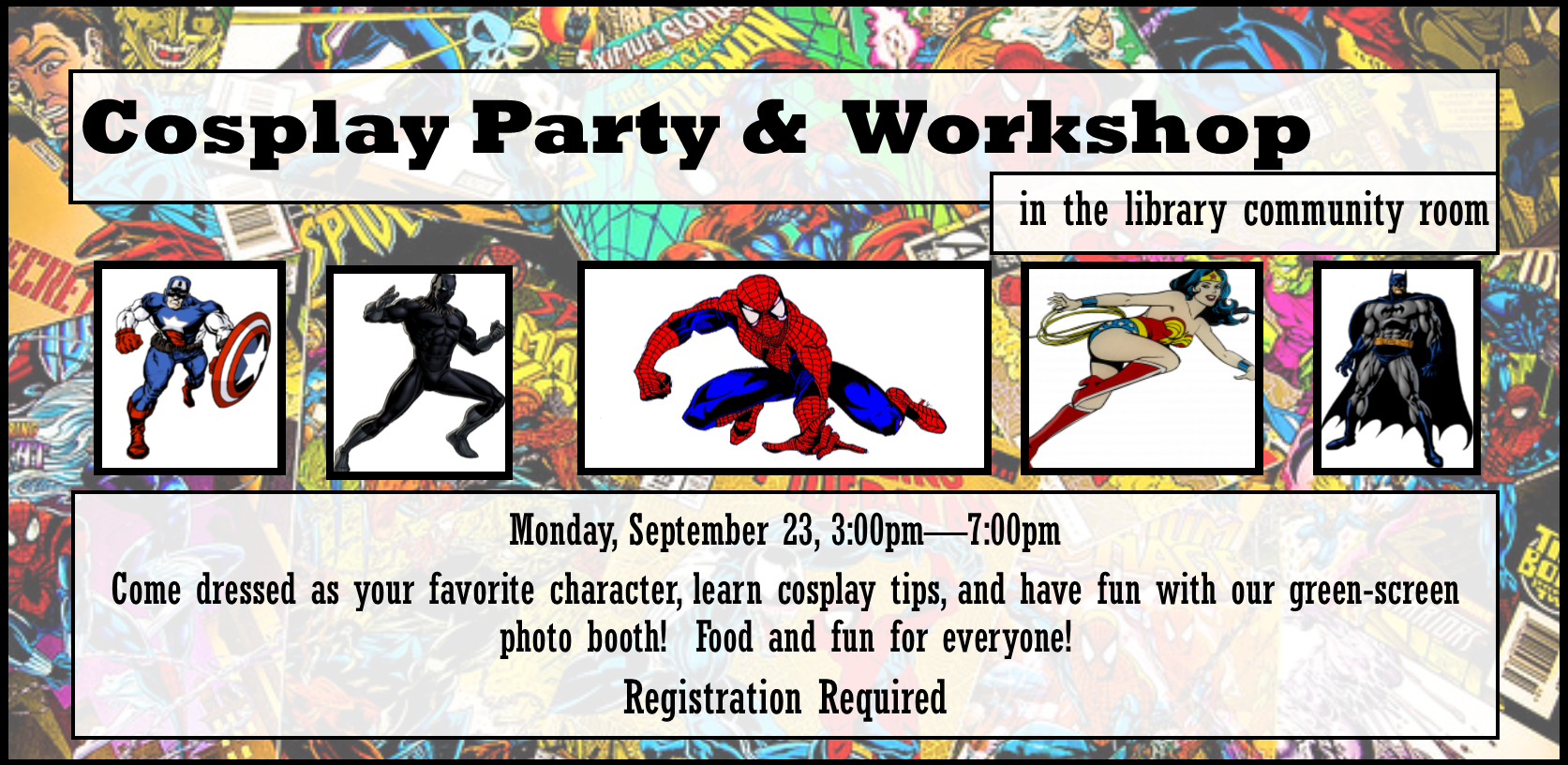 Cosplay Party & Workshop