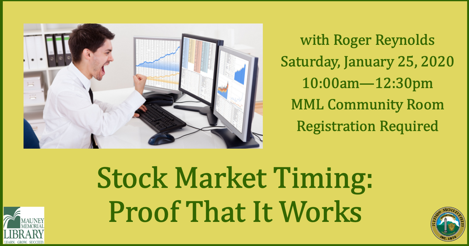 Stock Market Timing: Proof that it Works!
