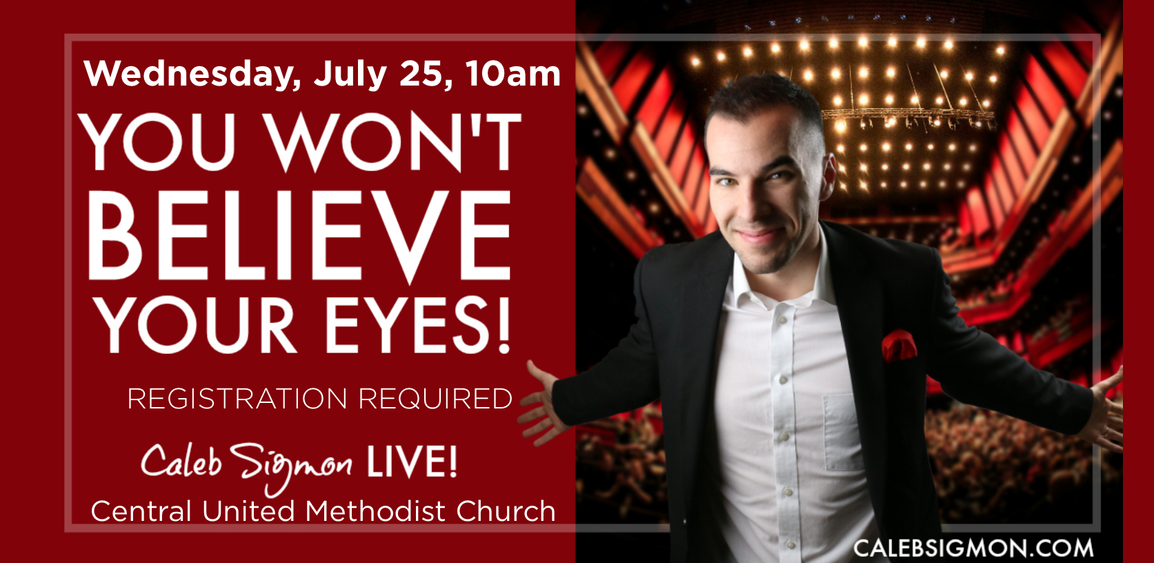 You Won't Believe Your Eyes! Caleb Sigmon LIVE