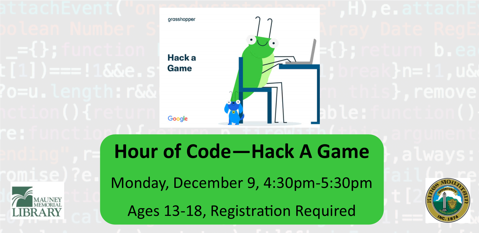 Hour of Code - Hack A Game