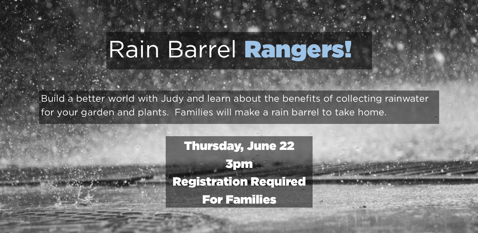 Rain Barrel Rangers