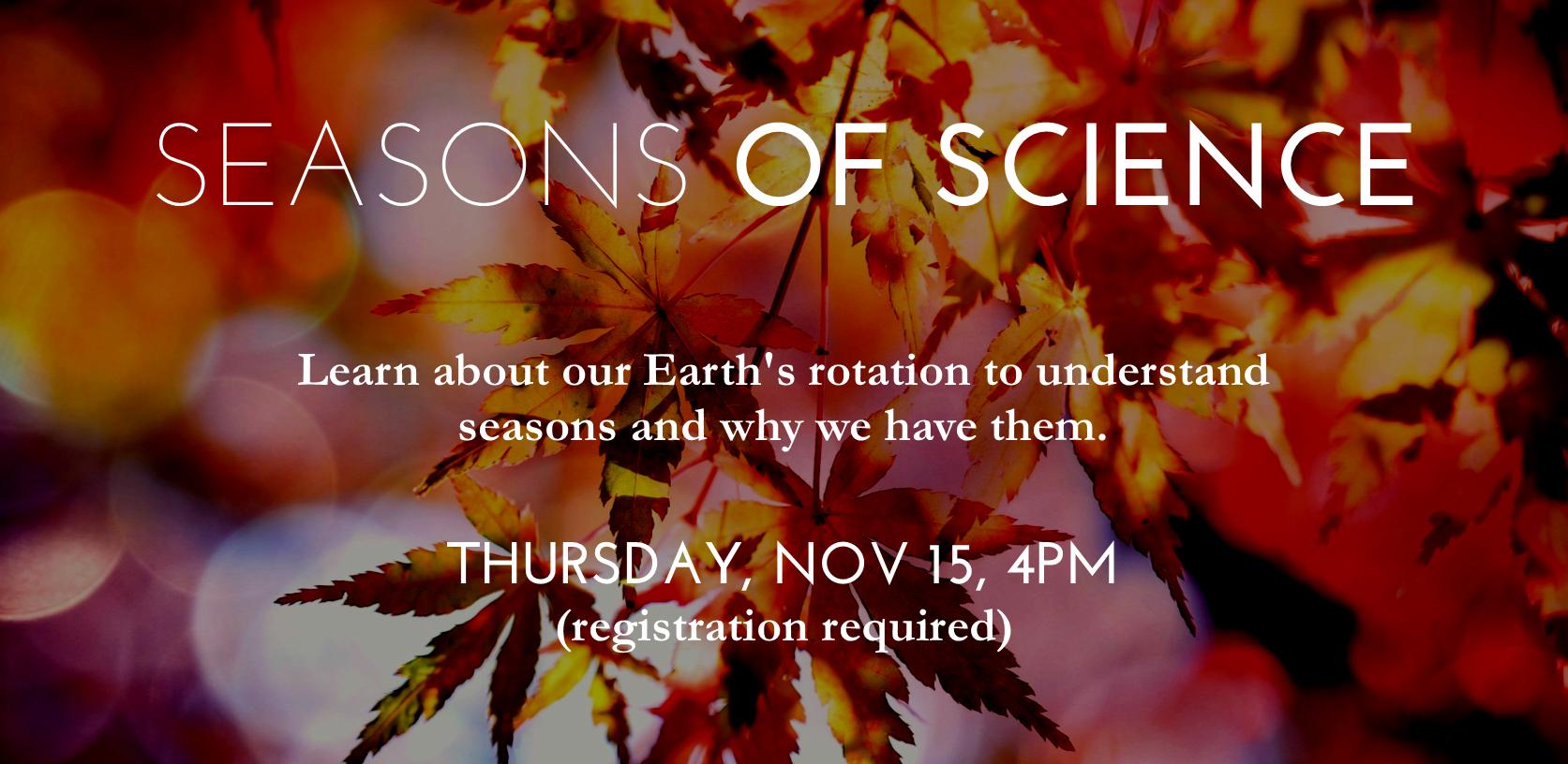 Kidsenses Presents: Seasons of Science