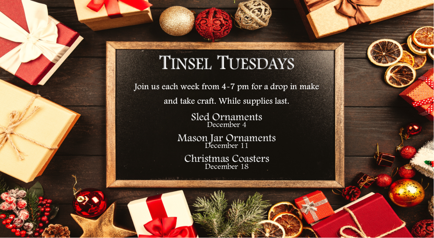 Tinsel Tuesdays