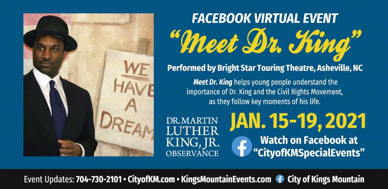 Meet Dr. King: Presented by Bright Star Theatre