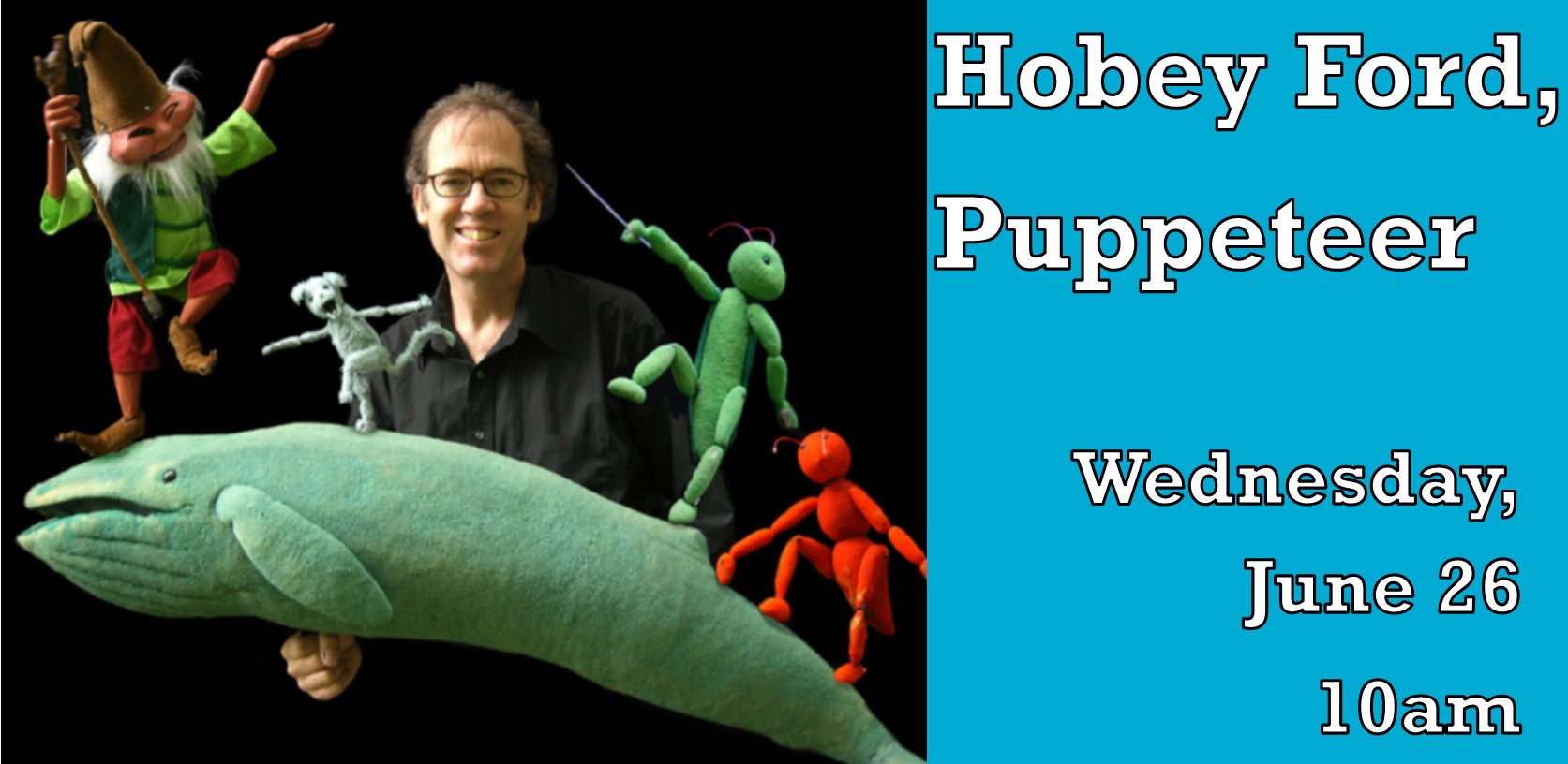 Hobey Ford, Puppeteer