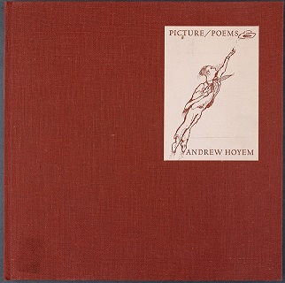 The book Pictures/Poems by Andrew Hoyem.