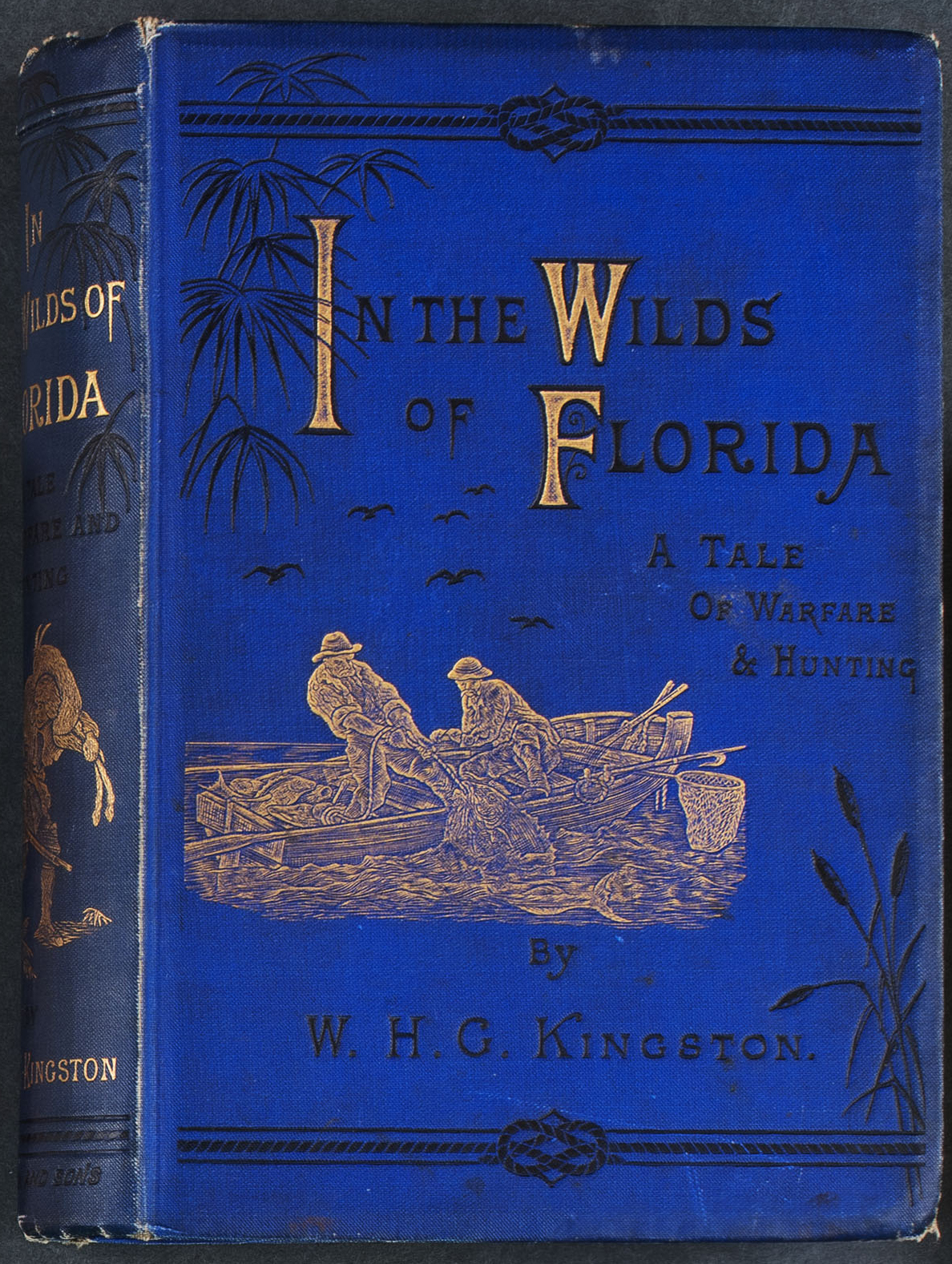 A book titled In the Wilds of Florida housed in Special Collections.