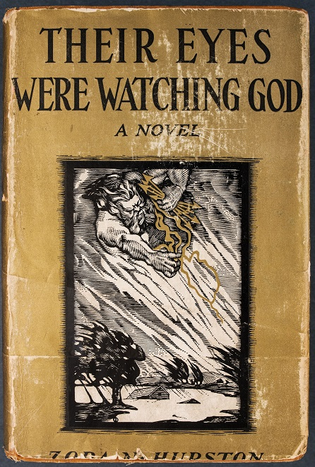 Special Collections' copy of the book Their Eyes Were Watching God by Zora Neale Hurston.