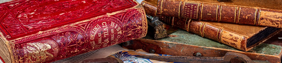 Various historical books.