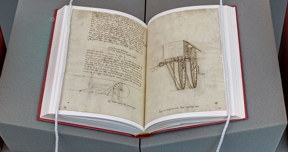 Special Collections' facsimile edition of the Madrid Codices.