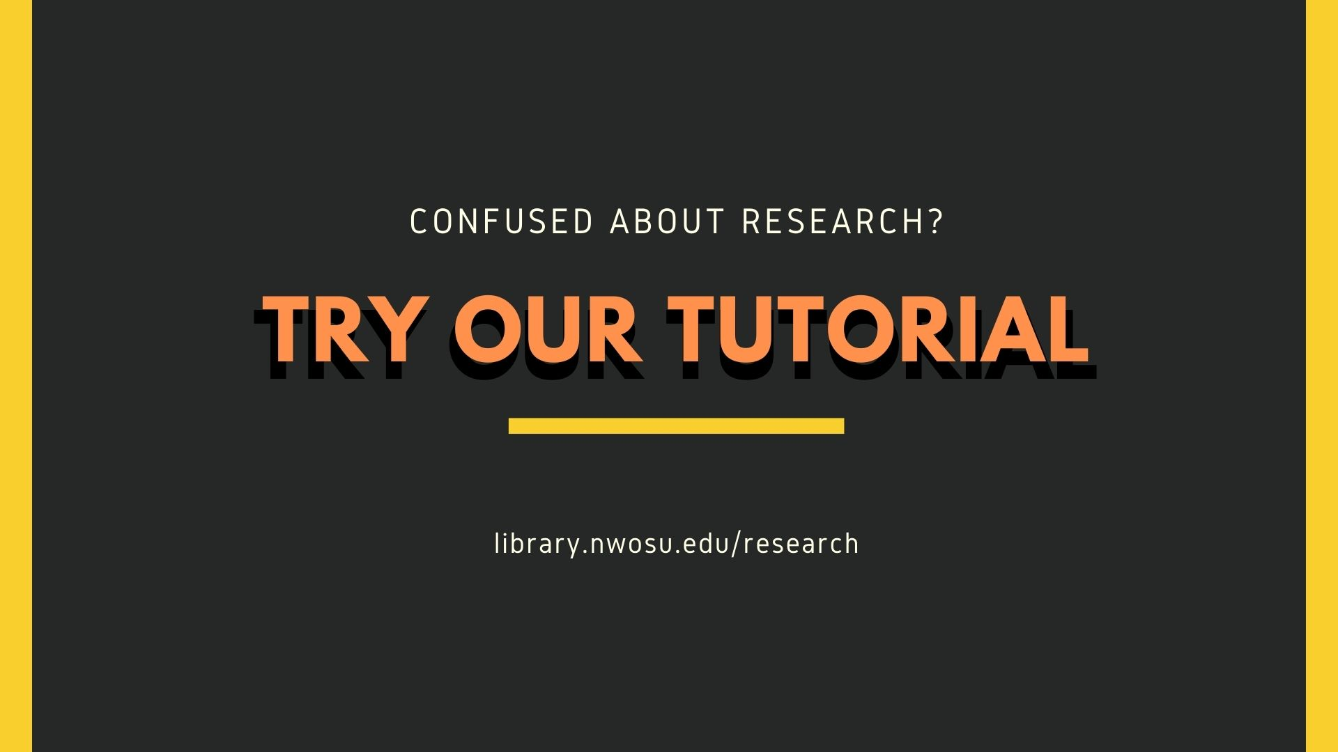 Confused about research? Try our guide to research.
