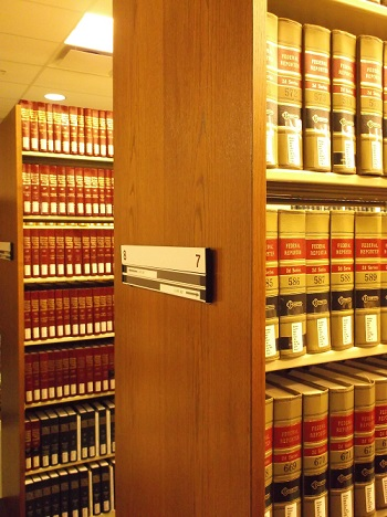Law Reference Books on Shelves
