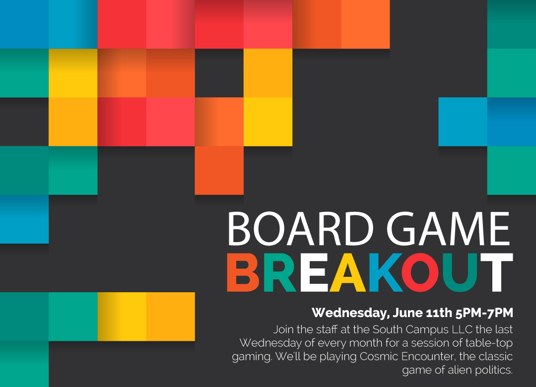 Board Game Breakout. Click for more Information.