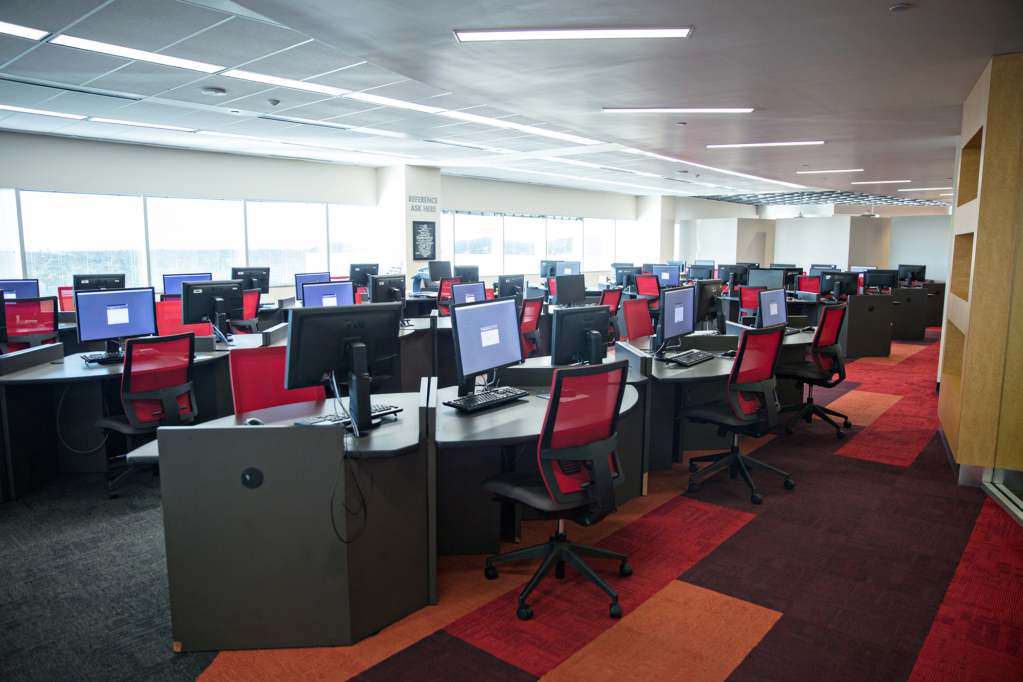 Front computer lab