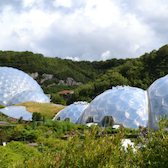 Photo of geodesic domes