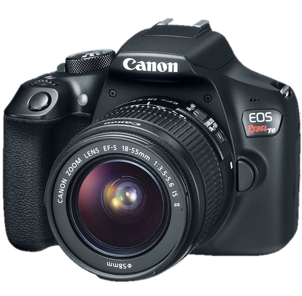 Image of Canon EOS Rebel T6 camera