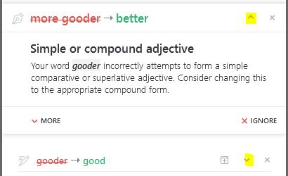 Fixing an error in Grammarly for Word