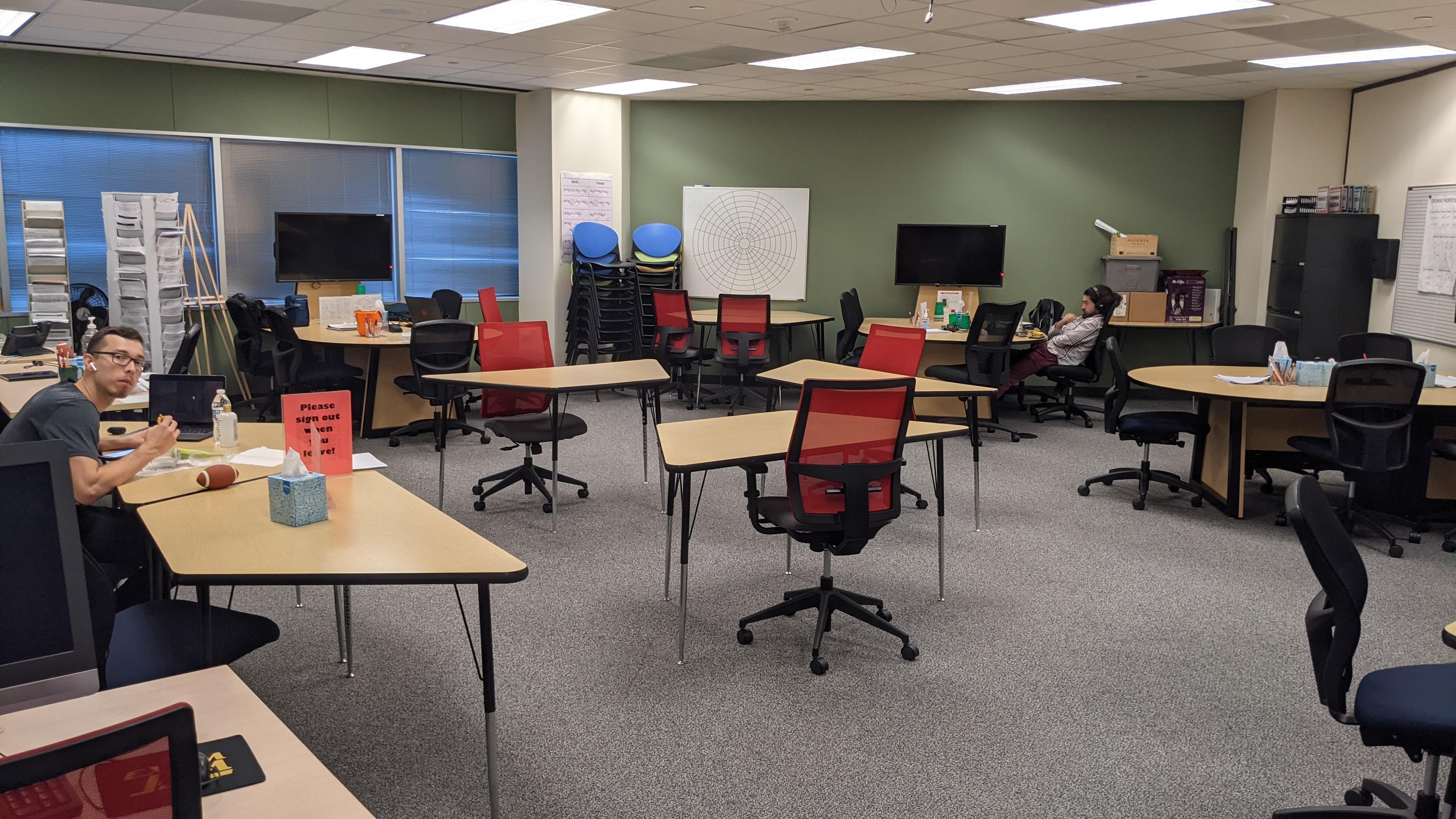 Math Hotspot interior