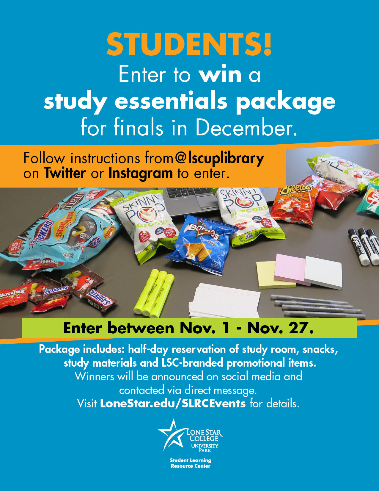 Win this study room