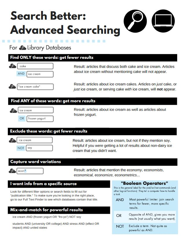 Search better