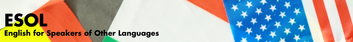 ESOL banner