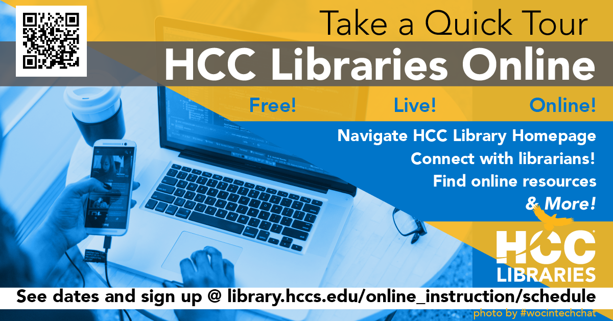 Quick Tour of HCCS Libraries Online