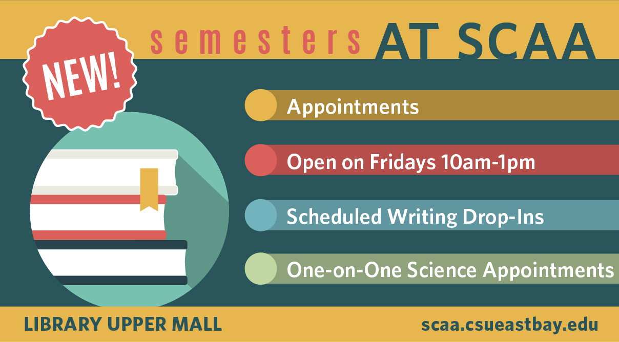 Semester Changes at the Student Center for Academic Achievement (SCAA)