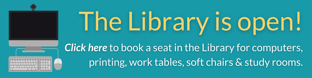 button to book a library seat