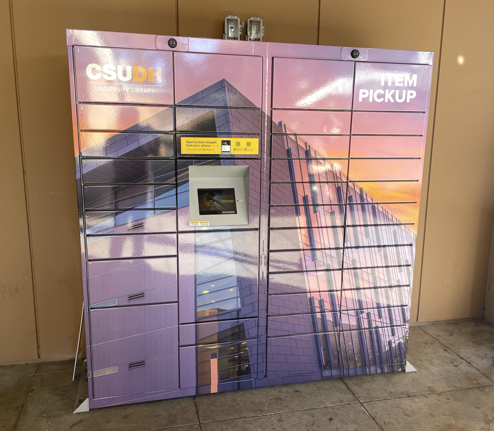 Image of CSUDH Library Lockers