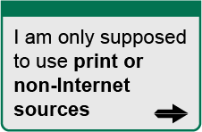 [ I am only supposed to use print or non-Internet sources ]