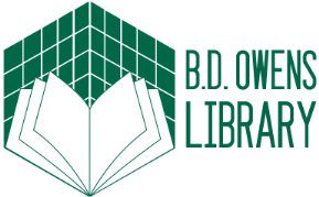 B. D. Owens Library logo