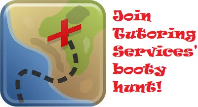 Join Tutoring Services' booty hunt!