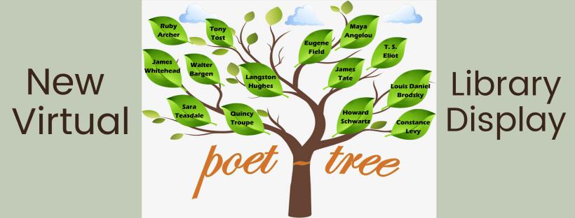 Library Display: Poet-tree