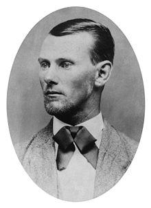 portrait of Jesse James
